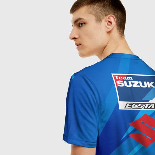 Мужская футболка 3D Suzuki MotoGP Фото 01