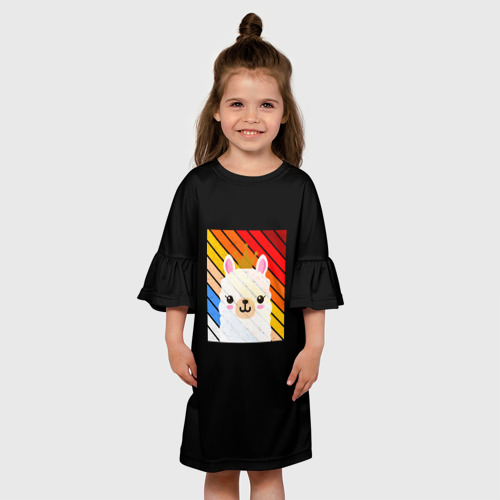 Детское платье 3D Lama 116 фото