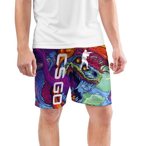 Мужские шорты спортивные CS GO HYPERBEAST Фото 01