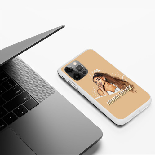 Чехол для iPhone 12 Pro Max Ariana Grande (Ариана Гранде) Фото 01
