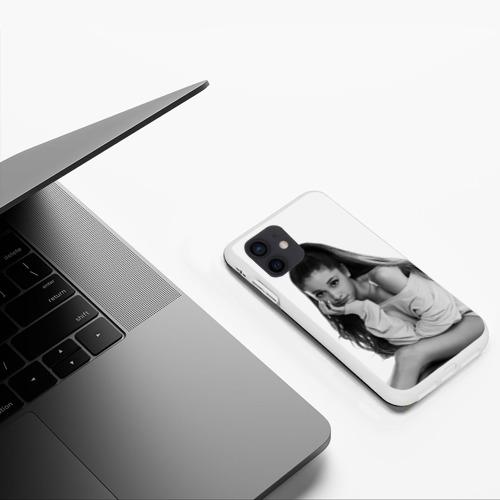 Чехол для iPhone 12 Mini Ariana Grande (Ариана Гранде) Фото 01