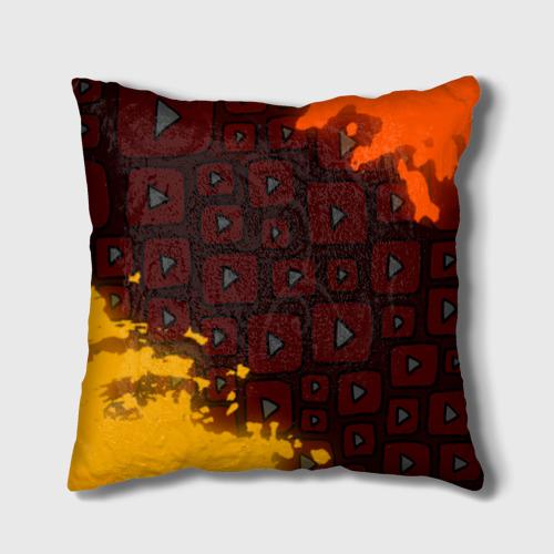 Подушка 3D YouTube  Фото 01