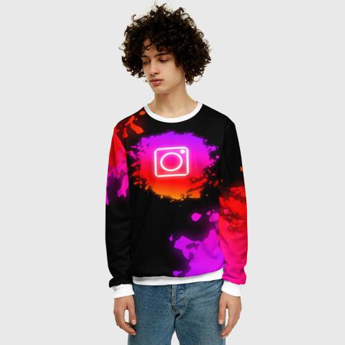 Мужской свитшот 3D Instagram  Фото 01