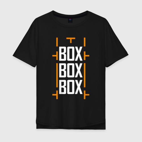 Мужская футболка хлопок Oversize Box box box Фото 01