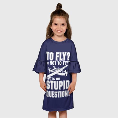 Детское платье 3D Летать, или не летать? 170 фото