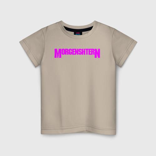 Детская футболка хлопок Моргенштерн 104 фото