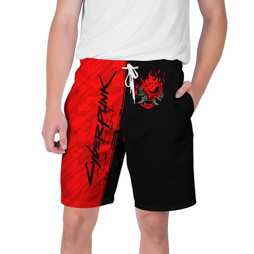 Мужские шорты 3D CYBERPUNK 2077 | КИБЕРПАНК (Z) Фото 01