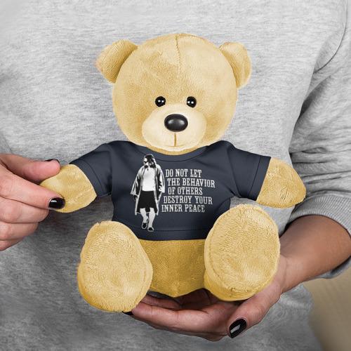 Мишка в футболке 3D The Big Lebowski Фото 01