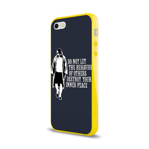 Чехол для iPhone 5/5S глянцевый The Big Lebowski Фото 01