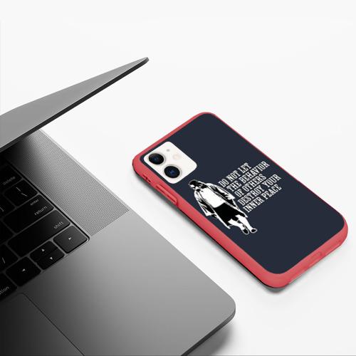 Чехол для iPhone 11 матовый The Big Lebowski Фото 01
