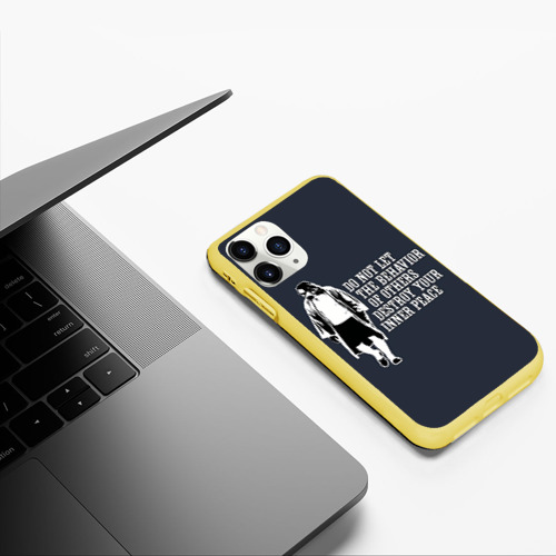 Чехол для iPhone 11 Pro матовый The Big Lebowski Фото 01