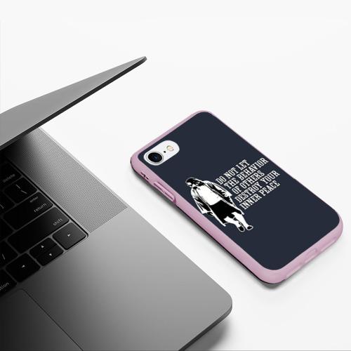 Чехол для iPhone 7/8 матовый The Big Lebowski Фото 01