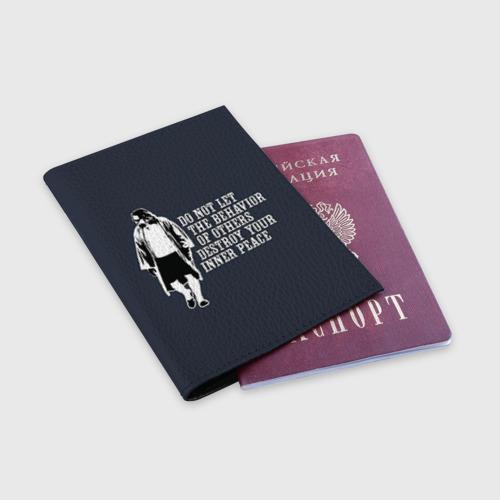 Обложка для паспорта матовая кожа The Big Lebowski Фото 01