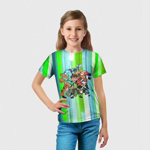 Детская футболка 3D Бен10 Фото 01