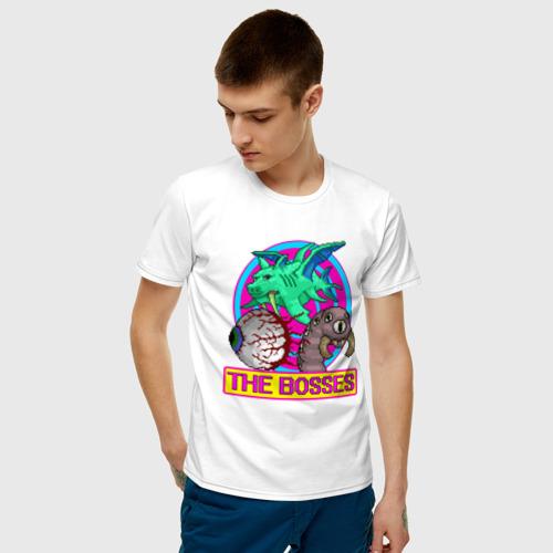 Мужская футболка хлопок Terraria за  1025 рублей в интернет магазине Принт виды с разных сторон