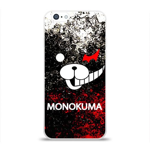 Чехол для Apple iPhone 6 силиконовый глянцевый MONOKUMA. Фото 01