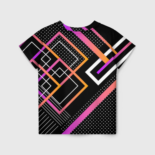 Детская футболка 3D Modern Geometry за  1025 рублей в интернет магазине Принт виды с разных сторон