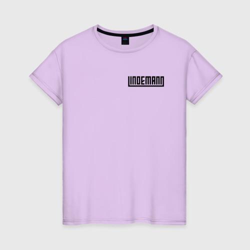 Женская футболка хлопок LINDEMANN XL фото