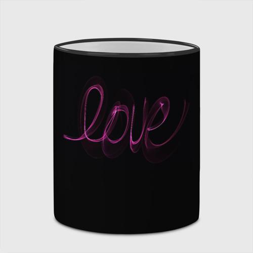 Кружка с полной запечаткой Love надпись Фото 01