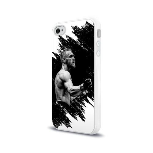 Чехол для Apple iPhone 4/4S силиконовый глянцевый Conor McGregor Фото 01