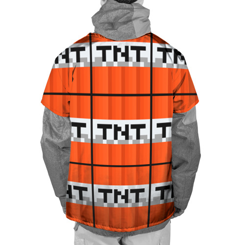 Накидка на куртку 3D Minecraft-Динамит Фото 01