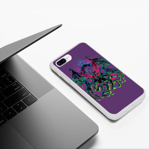 Чехол для iPhone 7Plus/8 Plus матовый Ктулху Фото 01