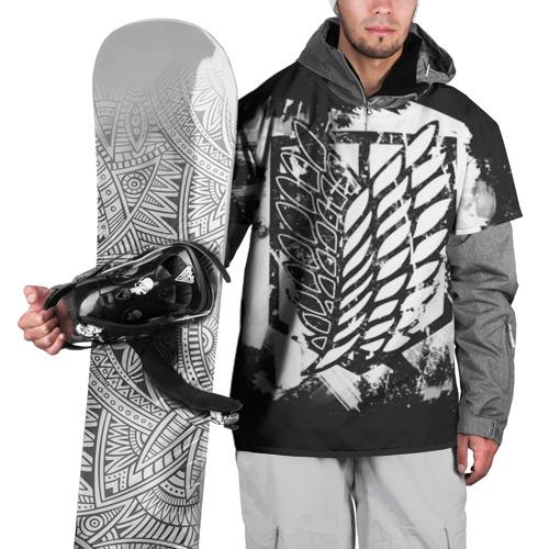 Накидка на куртку 3D Атака Титанов XS фото