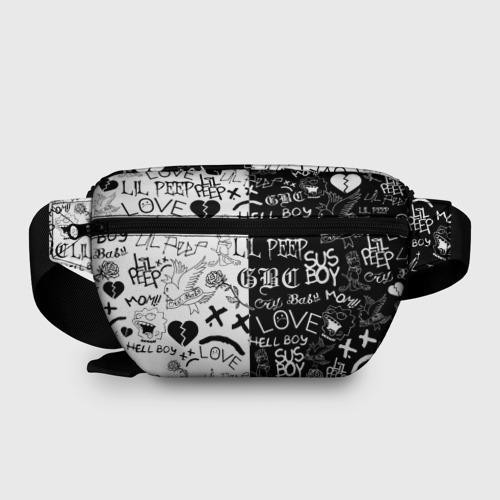 Поясная сумка 3D LIL PEEP LOGOBOMBING Фото 01