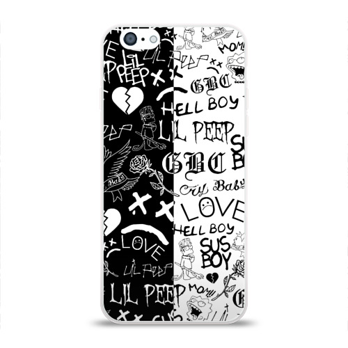 Чехол для iPhone 6/6S глянцевый LIL PEEP LOGOBOMBING Фото 01