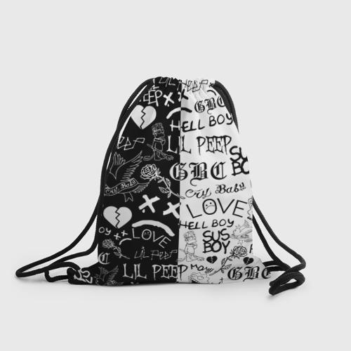 Рюкзак-мешок 3D LIL PEEP LOGOBOMBING Фото 01