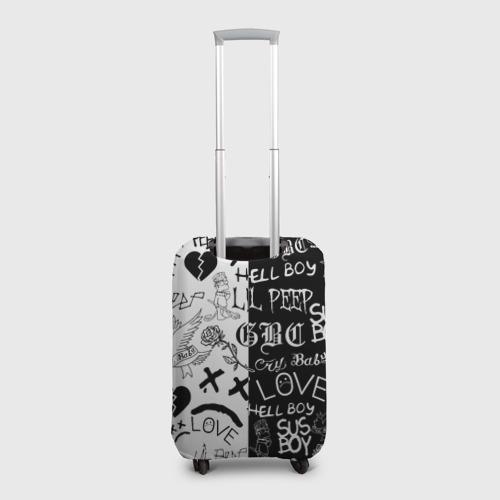 Чехол для чемодана 3D LIL PEEP LOGOBOMBING Фото 01