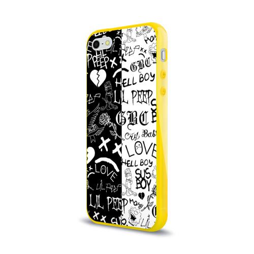 Чехол для iPhone 5/5S глянцевый LIL PEEP LOGOBOMBING Фото 01