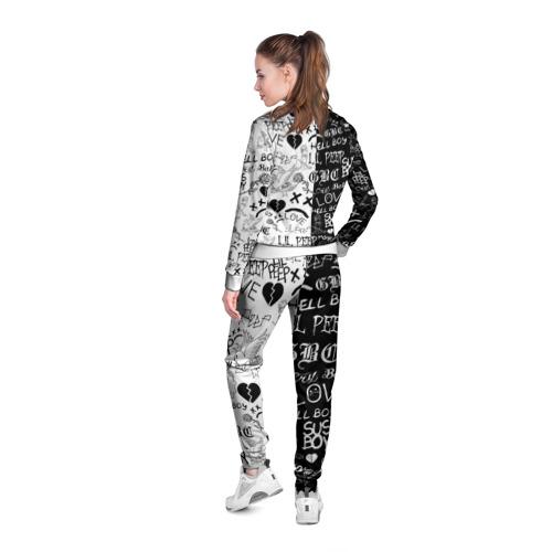 Женская олимпийка 3D LIL PEEP LOGOBOMBING Фото 01