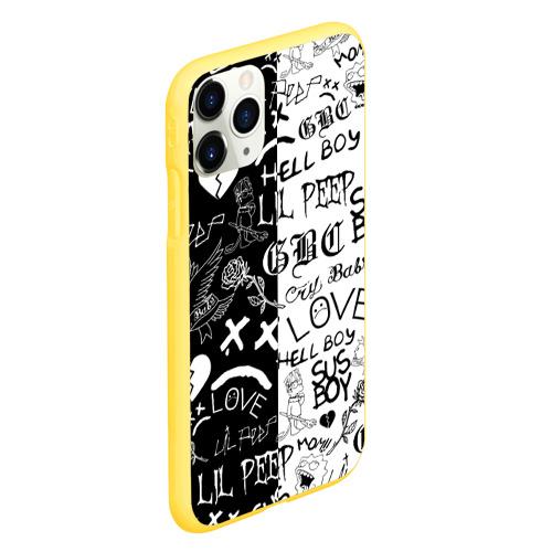 Чехол для iPhone 11 Pro матовый LIL PEEP LOGOBOMBING Фото 01