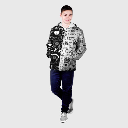 Мужская куртка 3D LIL PEEP LOGOBOMBING Фото 01
