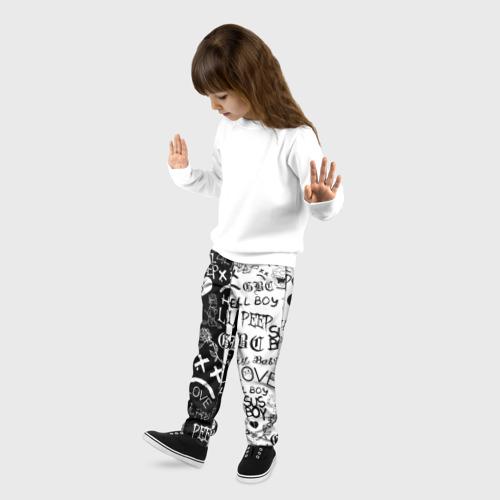Детские брюки 3D LIL PEEP LOGOBOMBING Фото 01