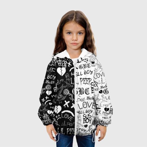 Детская куртка 3D LIL PEEP LOGOBOMBING Фото 01