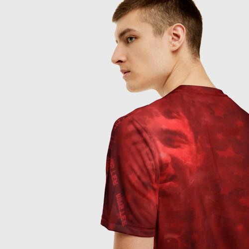 Мужская футболка 3D True Man's Sport (акварель) Фото 01