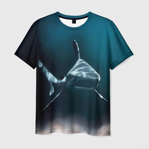 Мужская футболка 3D акула Фото 01