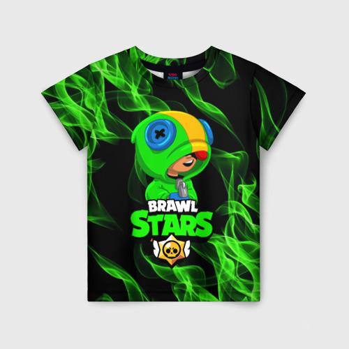 Детская футболка 3D  BRAWL STARS LEON / ЛЕОН Фото 01