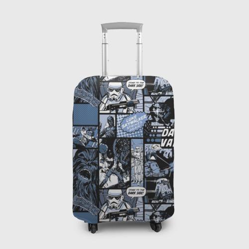 Чехол для чемодана 3D  Star Warriors Collage Фото 01