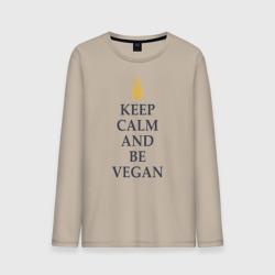 Keep calm and be vegan