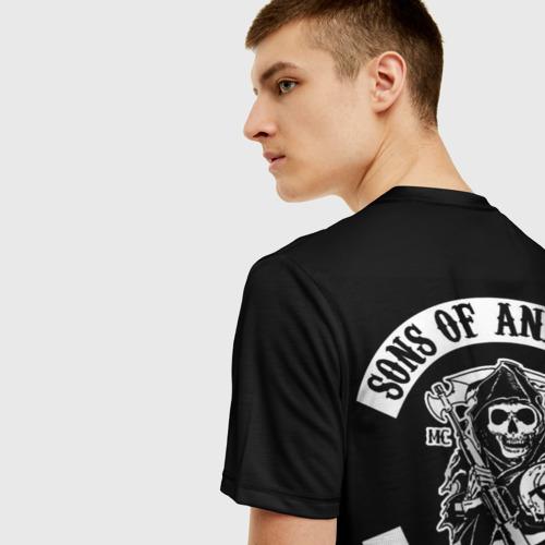 Мужская футболка 3D Сыны анархии Фото 01
