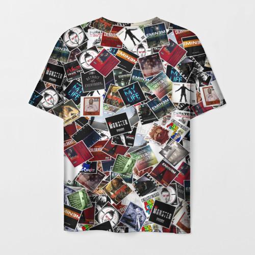 Мужская футболка 3D Дискография EMINEM Фото 01