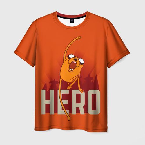 Мужская футболка 3D HERO.Джейк Фото 01