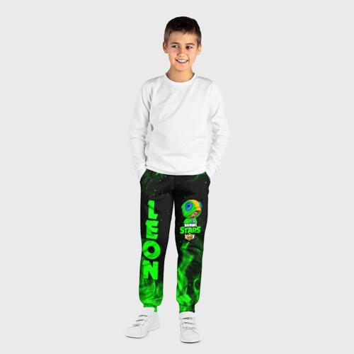 Детские брюки 3D BRAWL STARS LEON Фото 01