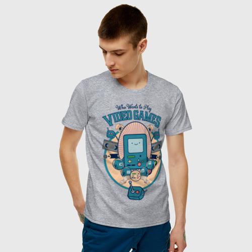 Мужская футболка хлопок БиМО Фото 01