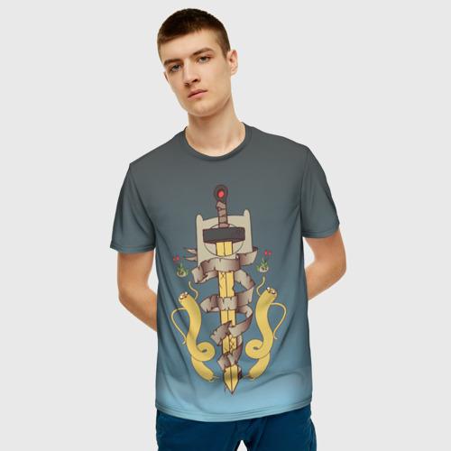 Мужская футболка 3D Символ. Время приключений Фото 01