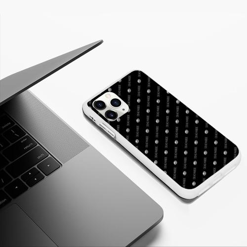 Чехол для iPhone 11 Pro Max матовый Dead inside Фото 01