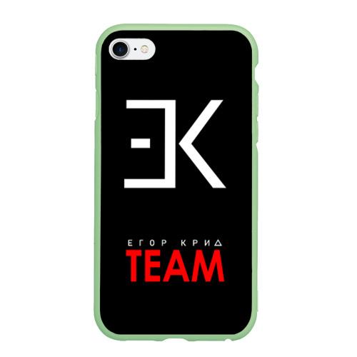Чехол для iPhone 6Plus/6S Plus матовый ЕГОР КРИД Фото 01